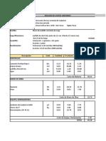 Analisis de Costos Unitarios 2