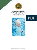Royal Baby Bear Hat (Knit)