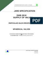 DWS2510.03 Spherical valves