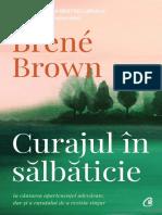 Curajul in salbaticie Brene Brown rezumat
