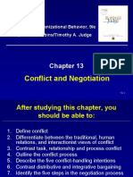 Chapter 13 - Conflict & Negotiation