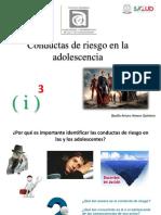 Conductas de riesgo en la adolescencia