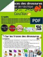 Sur Les Traces Des Dinosaures Tapis-AtelierBB-CaraVan