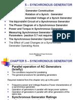 Ch5 Synch Generator