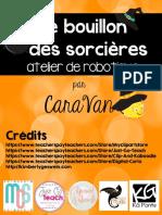 Bouillon Des Sorcières AtelierBB CaraVan Sans Cercle
