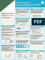 Copywrite Digital Printers Template - A1 Poster