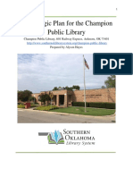 strategic plan for champion public library