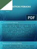 Presentación 2 POLITICA PUBLICA