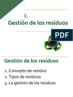 T16.Gestión de los residuos