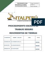 MOVIMIENTO DE TIERRAS CON MAQUINARIA PESADA..