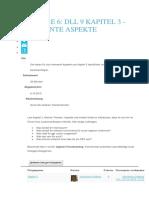 DLL 9 KAPITEL 3 - RELEVANTE ASPEKTE