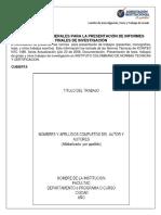 2-Instructivo presentación de Informe Final