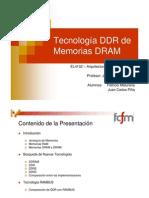 Tecnología DDR de Memorias DRAM