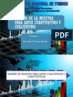 CALCULO DEL TAMAÑO DE MUESTRA