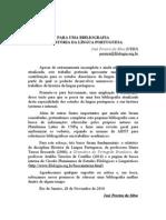 Bbliografia da história da língua portuguesa