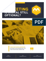 Marketing-Is Digital Still Optional eBook