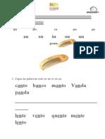 Ficha de Língua Portuguesa an en in on un 22-11