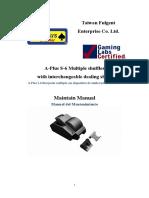 20111130 Manual del mantenimiento