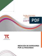 ULTRASONIDO CONVENCIONAL Y PHASED ARRAY (mapeos de corrosion)