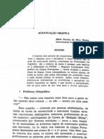 Acentuação gráfica. - Odete Pereira da Silva Menon