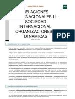 Relaciones Internacionales II
