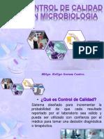 Control de Calidad en Microbiologia
