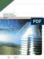 00EPG3X AT110 Separator GT50 - Operators Manual