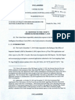 FBI Response to the Court's Order