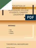 PERCEPTION-OF-ROSEMONT-HILLS-MONTESSORI-COLLEGE-STUDENTS-TOWARDS.pptx