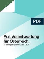 Regierungsprogramm Österreich Kurzfassung