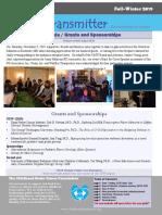 Nuerotransmitter Newsletter-12/2019