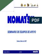 Presentación Motoniveladora GD825A-2