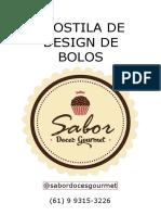 Sabor Doces Gourmet - Apostila de Design de Bolos (Grátis)