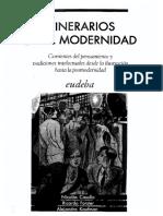 CASULLO N Itinerarios De La Modernidad
