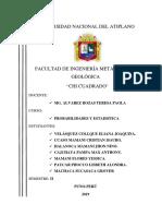 UNIVERSIDAD NACIONAL DEL  ATIPLANO - CHI CUADRADO 12