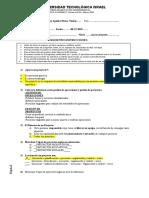 Examen EP1A PROYECTOS Distancia