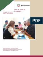 Orientaciones Elaboracion PAI 2019