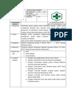 SOP Identifikasi Pasien dan daftar tilik klinik ketapang demak
