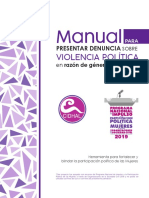 Manual para presentar denuncia VPCM