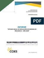 Informe COES_D_DO_SPR-IT-006-2019