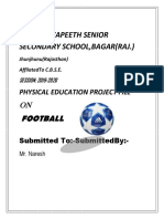 Football project file class 12 physical education