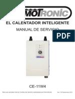 Manual Servicio Termotronic