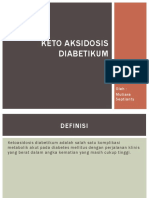 KETO AKSIDOSIS DIABETIKUM