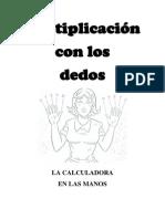 Multiplicacion Con Los Dedos
