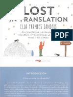 Sanders Ella Frances - Lost In Translation