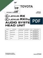 Pioneer Lexus Dex-mg9487zt Dex-mg9587zt Crt4255