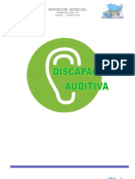 DISCAPACIDAD AUDITIVA