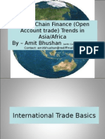 Supply Chain Finance in Asia/Africa - Trends