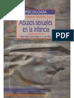 Abusos Sexuales en La Infancia. Abordaje Psicológico y Jurídico - María Lameiras Fernández