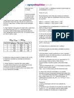 Equilíbrio químico, iônico, pH e pOH